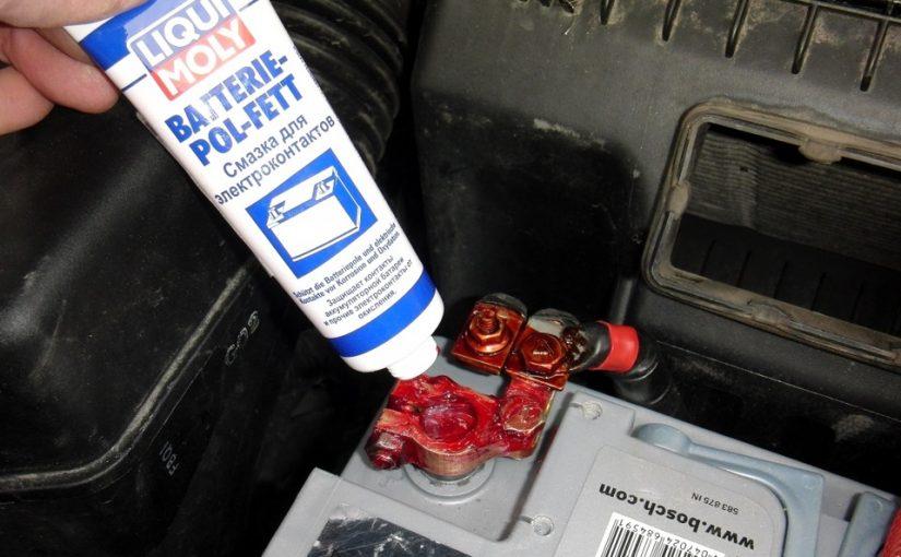 Как защитить аккумуляторные клеммы от окисления